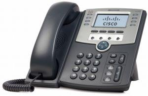CISCO - 12 Line IP Phone w / Display PoE + PC Port - SPA509G