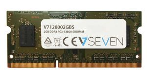 V7 - 2GB DDR3 1600MHZ CL11 MEM SO DIMM PC3-12800 1.5V - V7128002GBS