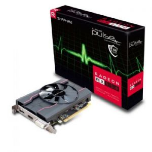 SAPPHIRE - RADEON RX 550 2GB GDDR5 PULSE CTLR PCI-E HDMI DVI-D DP