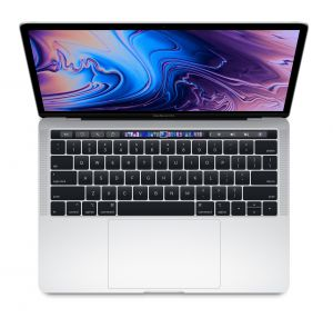 APPLE - 13-inch MacBook Pro with Touch Bar: 2.3GHz quad-core 8th-gen IntelCorei5 cpu: 512GB - Silver