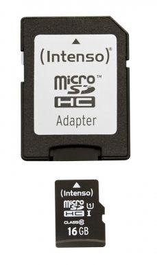 Intenso - microSDHC 16 GB Class 10 UHS-I