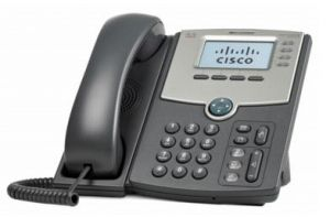 Cisco SPA514G Wired handset 4linhas LCD Cinzento telefone IP