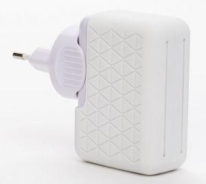 BLUESTORK - BS-220-4USB-PWH INTERIOR Branco Carregador de Dispositivo Móvel