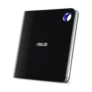 ASUS - BLURAY WRITER + DVDRW EXTERNO SLIM USB 3.1: USB TYPE C -SBW-06D5H-U/BLK/G/AS/P2G