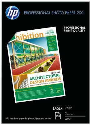 HP - Paper / Pro Laser Gloss A4 100sh 200gsm