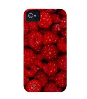 CASE-MATE - BARELYTHERE IPHONE 4 NG FRUIT (FR3-FRAMBOESA)