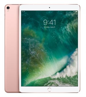APPLE - 10.5-inch iPad Pro Wi-Fi + Cellular 64GB - Rose Gold