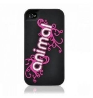 CONTOUR DESIGN - animal Silicone Corp Logo iPhone 4 (pink)