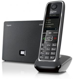 Gigaset C530 IP Estação sem fios Preto telefone IP