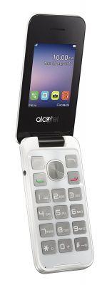 ALCATEL - IBERIA 20.51D PURE WHITE GSM 2.4IN QVGA 8MB RAM 2 MPX