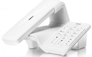 AEG - DECT LLOYD COMBO 15 WRLS RING TONE PHONEBOOK LCD WHITE