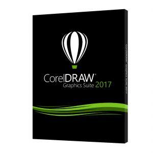 COREL - CorelDRAW Graphics Suite 2017 - Pacote de caixa (actualização) - 1 utilizador - DVD - Win - Inglês - CDGS2017IEDPUG