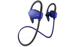 ENERGY SYSTEM - Energy Sport 1 - Auscultadores intra-aurais com microfonoe - intra-auricular - montagem sobre a orelha - sem fios - bluetooth - azul
