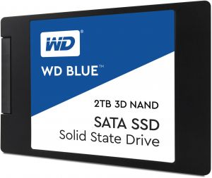 WD - SSD CONSUMER - WD BLUE SSD 2TB 2.5IN 7MMT 3D NAND SATA