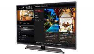 LG - 43UW761H - Tv Comercial SMART 4K UHD - TV SMART c/ conectividade wireless e acesso a WEBBrowser: Modo Hotel Avançado: Modo Display Publico: Auto USB Play deVideo e de Imagens