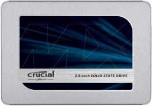 CRUCIAL - MX500 - 1 TB - interna - 2.5P - SATA 6Gb/s - 256-bits AES - TCG Opal Encryption 2.0
