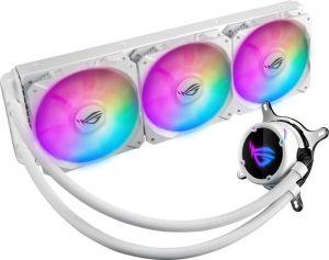 ASUS - Cooler CPU a agua ASUS ROG STRIX LC 360 RGB Aurasync Branco