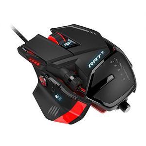 MAD CATZ - MCB4373200A3/04/1 USB LASER 8200DPI mão direita Preto, Vermelho Rato