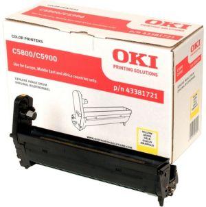 OKI - EP CART C5800 / 5900 / C5550MFP Yellow (20k)