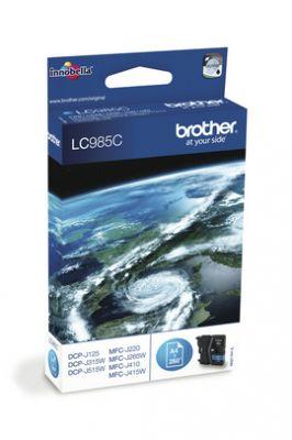 BROTHER - TINTEIRO 985 AZUL BLISTER