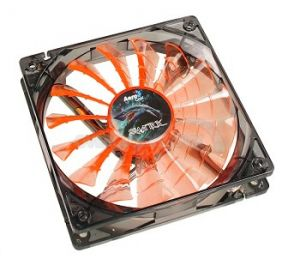 AEROCOOL - VENTOINHA SHARK 12CM ORANGE - SHARKORANGE