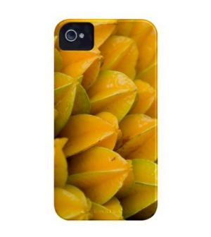 CASE-MATE - BARELYTHERE IPHONE 4 NG FRUIT (FR4-CARAMBOLA)