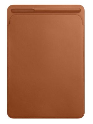 APPLE - Leather Sleeve for 10.5-inch iPad Pro - Saddle Brown