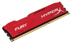 HYPERX - 4GB 1600MHz DDR3 CL10 FURY RED SERIES HX316C10FR / 4