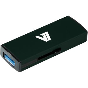 V7 - AXPRO - SLIDER USB STICK 8GB MEM USB 3.0 BLACK