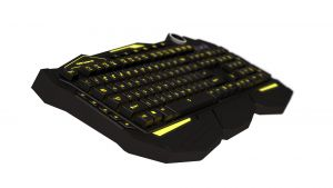 MARS GAMING - Pro keyboard MK3E H-Mechanical Layout teclado ES