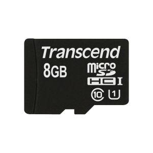 TRANSCEND - 8GB MICROSD CLASS10 ADAP 300X - TS8GUSDU1