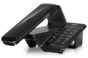 AEG - DECT LLOYD COMBO 15 WRLS RING TONE PHONEBOOK LCD BLACK