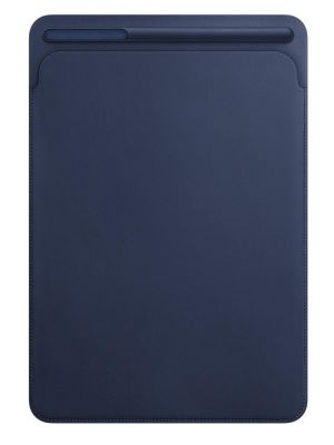 APPLE - Leather Sleeve for 10.5-inch iPad Pro - Midnight Blue
