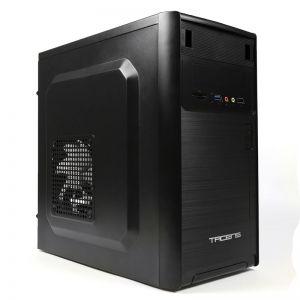TACENS - CAIXA TACENS MICRO-ATX/MINI-ITX, MID TOWER, USB3.0/USB2.0, LEITOR CARTÕES, VENT 12CM, BLACK - 2NOVUM - 2NOVUM