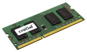 Crucial 2GB DDR3-1066 SO-DIMM CL7 2GB DDR3 1066MHz módulo de memória