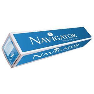 NAVIGATOR - Papel Plotter 90gr 914mmx50mts Navigator (Pack 1 Rolo)
