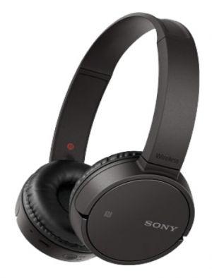 SONY - MDR-ZX220BTB Preto - Auscultadores bluetooth: tempo de reprodução até 8 horas e NFC