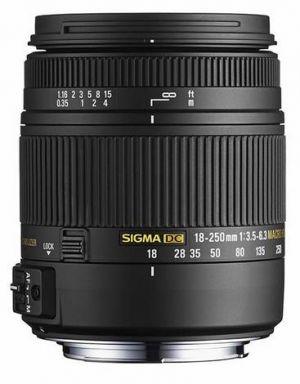 SIGMA - Objectiva 18-250mm f:3.5-6.3 DC Macro OS HSM NIKON -