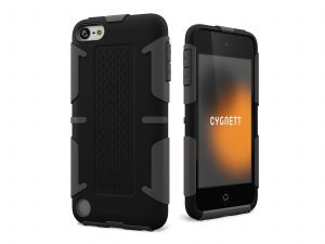 CYGNETT - Workmate Greyscale Black Capa Shock-absorbing p/iPod - CY0904CTWOR