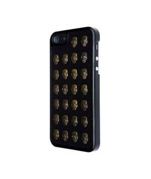 VCUBED3 - Metal Skull iPhone 5 (black / gold)