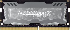 CRUCIAL - Ballistix SportsLT SODIMM DDR4 4GB 2400M GREY - BLS4G4S240FSD