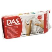 DAS - Pasta de modelar DAS Branca 1 Kg