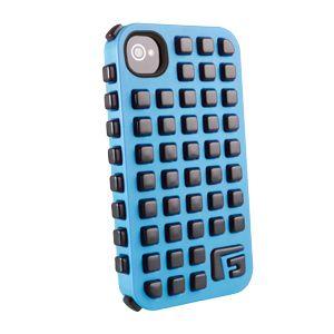 G-FORM - iPhone Square - Blue Shell / Black RPT - CP2IP4006E