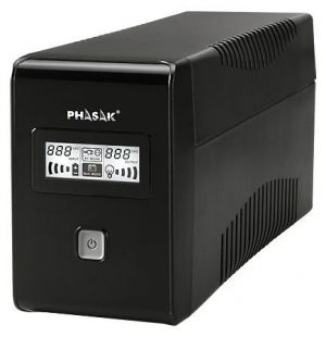 PHASAK - UPS 650Va LCD (USB+RJ)