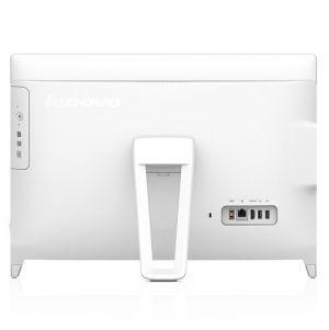 LENOVO - AiO C20-00 - 19.5P HD (1600 x 900) / Intel Celeron J13160 2,24GHz Quad-Core  / 8GB DDR3 1600 / 1TB / Integrated / Windows 10 Home (64-bit) / White Includes USB White Optical Mouse + USB White Keyboard PT