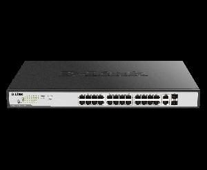 D-LINK - Switch GIGABIT 24X10 / 100 / 1000+2XCOMBO