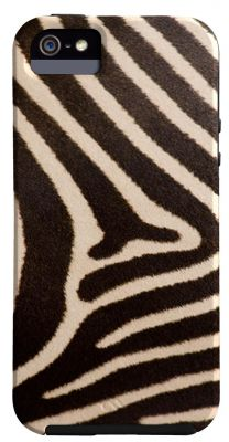 CASE-MATE - BARELYTHERE IPHONE 5 NG PRINTS (AP1-ZEBRA)