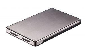 TOOQ - Caixa EXTERNA TQE-2515B 25P 95 MM SATA USB 2.0 NEGRA