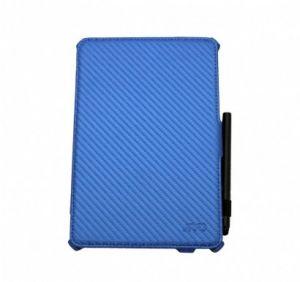 JIVO - Bundle for iPad Mini - includes Folio + Stylus Pen Blue - JI-1517