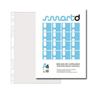 SMARTD - Bolsa Catalogo A4 (micas) 75 microns Pack 100